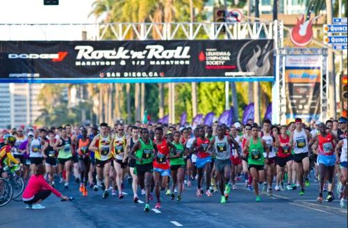 Rock 'n' Roll San Diego Marathon and Half